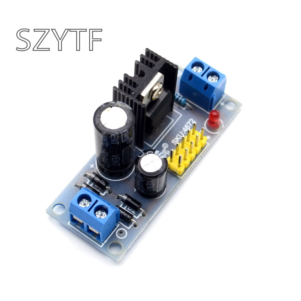 L7812 Lm7812 Three Terminal Regulator Power Module 12v Lm7912 Circuit 1pcs Lm7805 75v 35v To 5v Step Down Converter 12a Supply