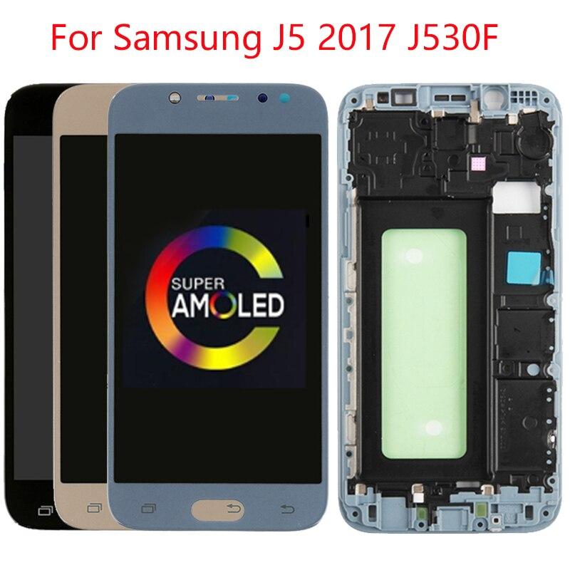 Original J530 LCD pour Samsung Galaxy J5 2017 LCD écran cadre écran tactile assemblage SM-J530F J530FN J530N LCD affichage numériseur