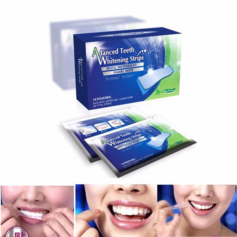 ୧ʕ ʔ୨profissional Higiene Oral Dentes Branqueamento Tiras De
