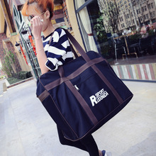 European fashion female bag portable oblique cross bag large capacity short luggage bag new waterproof
