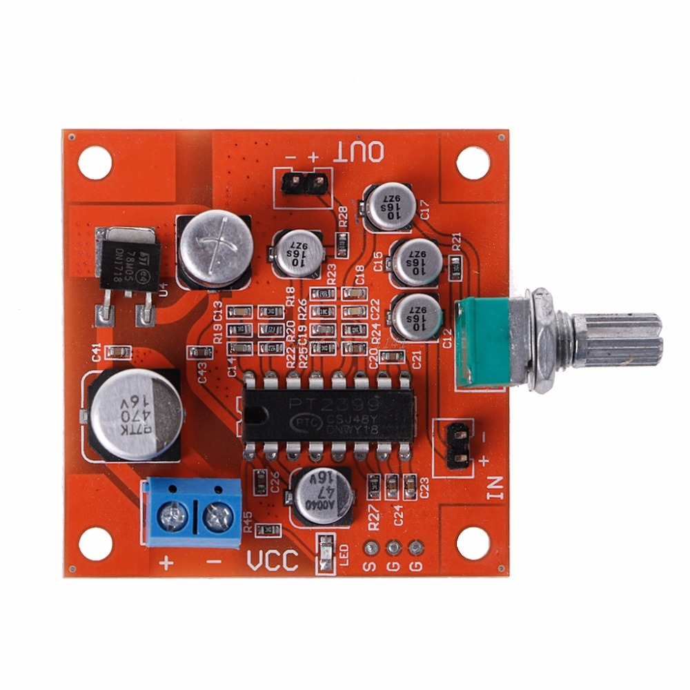 Dc 6v 15v Pt2399 Microphone Reverb Plate Reverberation Board No 10pcs Universal Copper Fiberglass Prototype Pcb Circuit Preamplifier In Integrated Circuits From Electronic Components Supplies On