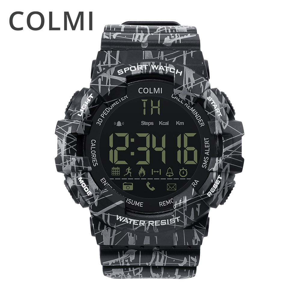 COLMI EX16C Wrist Smart Watch 5ATM Waterproof Passometer Message Reminder Ultra long Standby Outdoor Swimming Sport