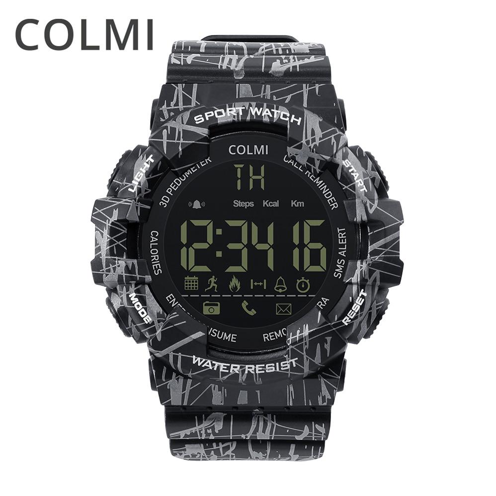 все цены на COLMI EX16C Wrist Smart Watch 5ATM Waterproof Passometer Message Reminder Ultra-long Standby Outdoor Swimming Sport Smartwatch онлайн