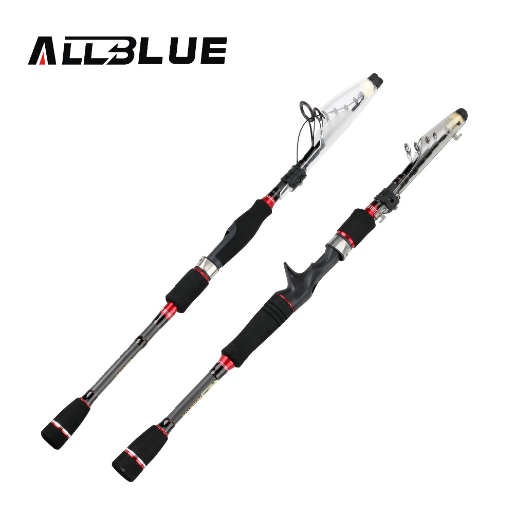 Buy allblue redwolf carbon fiber for Best telescoping fishing rod