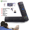 MX3 2.4 ГГц Беспроводная Клавиатура Air Mouse Пульт Дистанционного Управления Для Android TV & GBox Многофункциональный Мини-ПК TV Box Дистанционного Управления