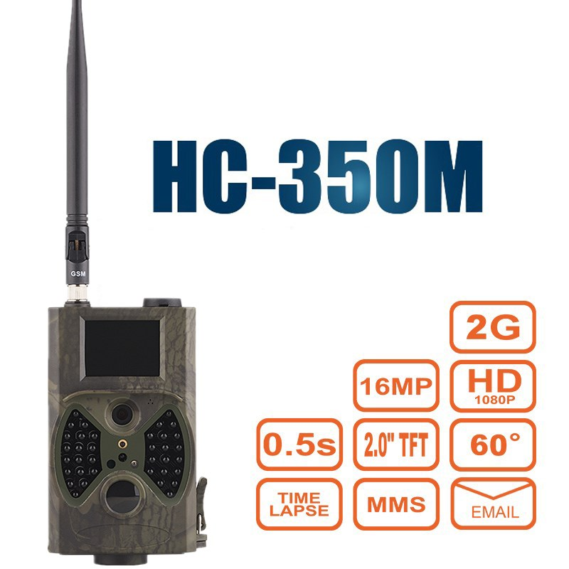 Suntek HC350M Hunting Trail Camera 16MP 0.5S Trigger Time 1080P Night Vision Game Camera MMS GPRS GSM SMTP PK HC300M HC500M free shipping ip56 waterproof mms gprs night vision trail game hunting camera 0 2s shooting time three sensors cam