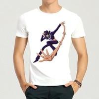 Cartoon One Piece Nico Robin Print T Shirt Mens Short Sleeved Robin Top Tees Shirt