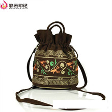 Caiyunyinji Brand Chinese National Characteristics Shoulder Handbags Women Small Phone Bag