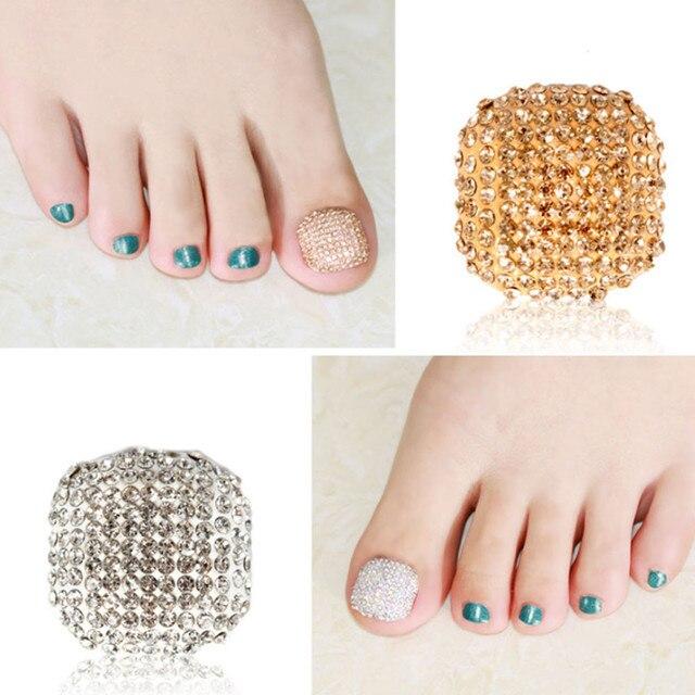 Hot Colorful Toe Nail Polish Sticker Wraps Art Decoration Patch