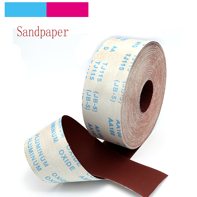 1 Meter 80-600 Grit Emery Cloth Roll Polishing Sandpaper For Grinding Polishing Tools Metalworking Woodworking Furniture S