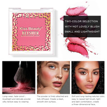 Get more info on the Easy to Wear Red Blush Smooth Dull Blush Naturally Brighten Complexion Rouge paletas blush maquiagem profissional completa