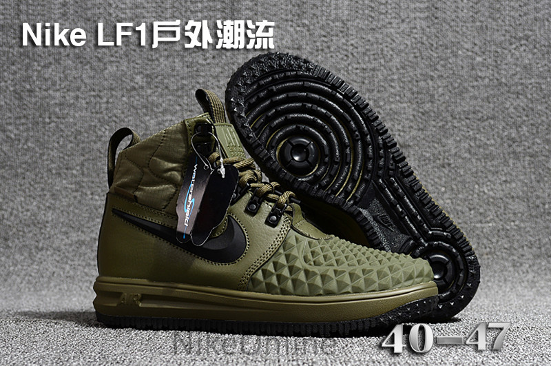 New Arrival Original NIKE Lunar Force 1Duckboot 17 Men's Breathable Running Shoes Outdoor Sport Shoes 40 47