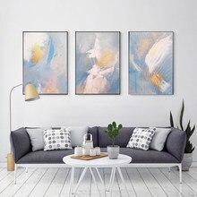 Cuadro en lienzo de alas abstractas de Color de sueño, carteles dorados de moda e impresiones para sala de estar, arte de pared del dormitorio, imagen HD