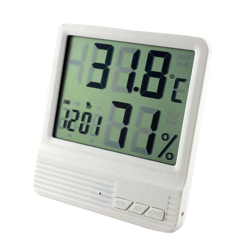 despertador eletrônico medidor de umidade temperatura monitor termometro