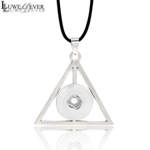 Metal Fashion Interchangeable Flower Crystal Ginger Necklace 040 Fit 18mm Snap Button Pendant Charm Jewelry For Women Gift