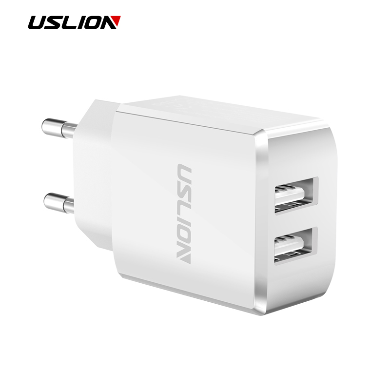 USLION USB Charger For iPhone Samsung Xiaomi Huawei Max 2.0A Universal