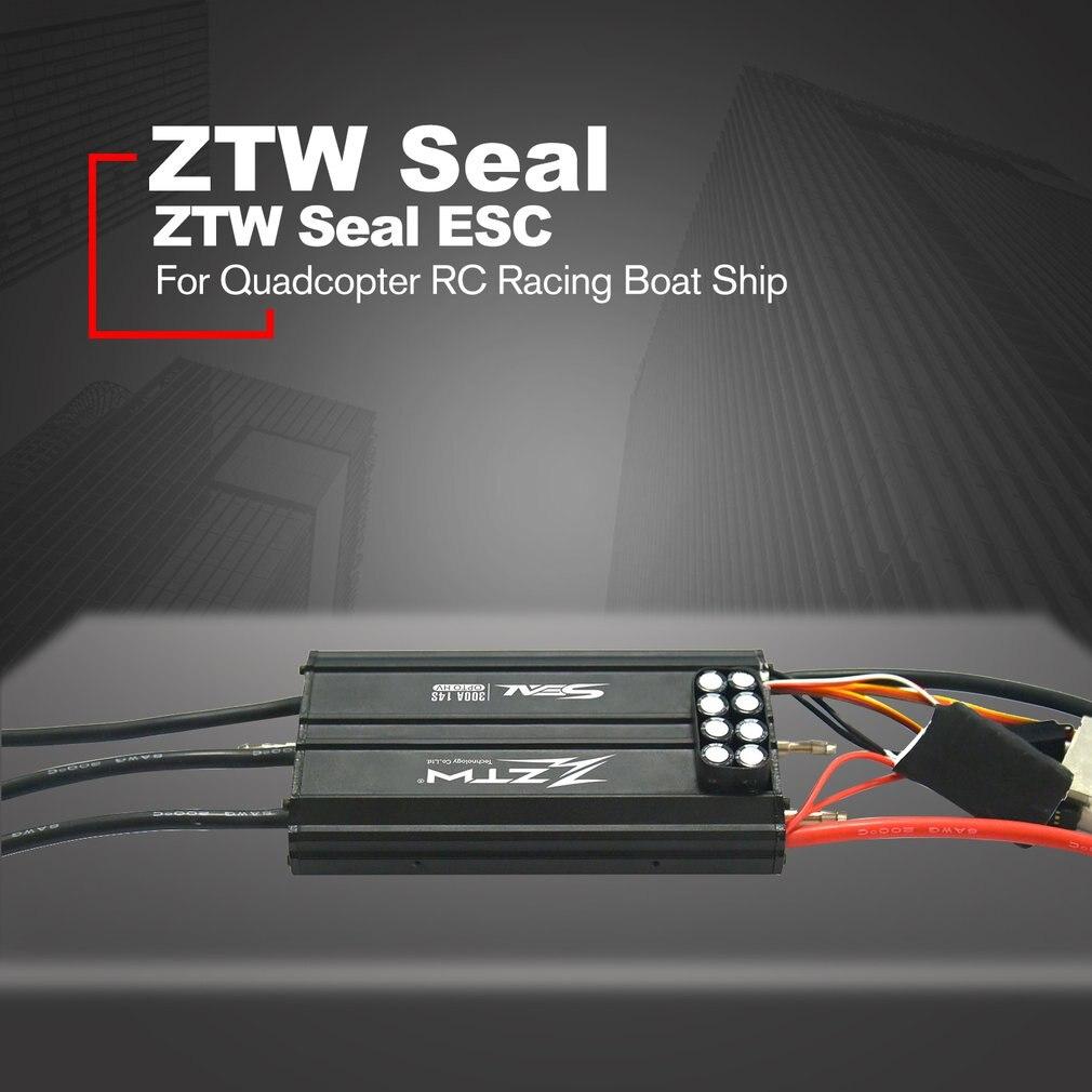 ZTW печать 300A OPTO HV бесщеточный ESC электронный Скорость управление Лер для дистанционное управление RC гоночный катер детали для корабля