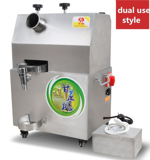2017 Commercial Use Electric Sugarcane Juicer Extractor Sugar Cane Juice Machine Sugar Juicing Machine With Battery Style