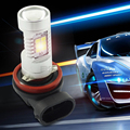 2 PCS 850LM Xenon White 6000K H11 H8 LED H10 HB3/9005 HB4/9006  LED High Power Daytime Running Light Fog Light 12V 24V