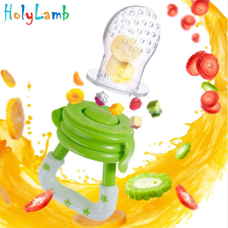 Baby Nipple Fresh Food Milk Nibbler Feeder Feeding Safe Baby Pacifier Suppl L/_A!