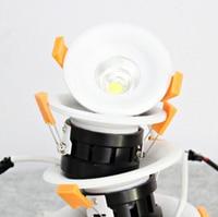 Gratis Verzending Nieuws Wit shell 10 W LED COB Downlights Dimbare led verzonken plafond led beneden AC85-265V/AC110V/AC220V