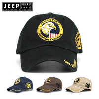 7a8c5c093a4644 JEEP SPIRIT Brand Washed Cotton Baseball Cap 2019 Snapback Hat For Men  Women Dad Hat Embroidery