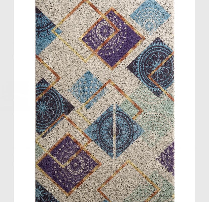 Paillasson de Style nordique typique pour porte d'entrée Design contracté tapis de bienvenue tapis d'extérieur antidérapant tapis dans le couloir