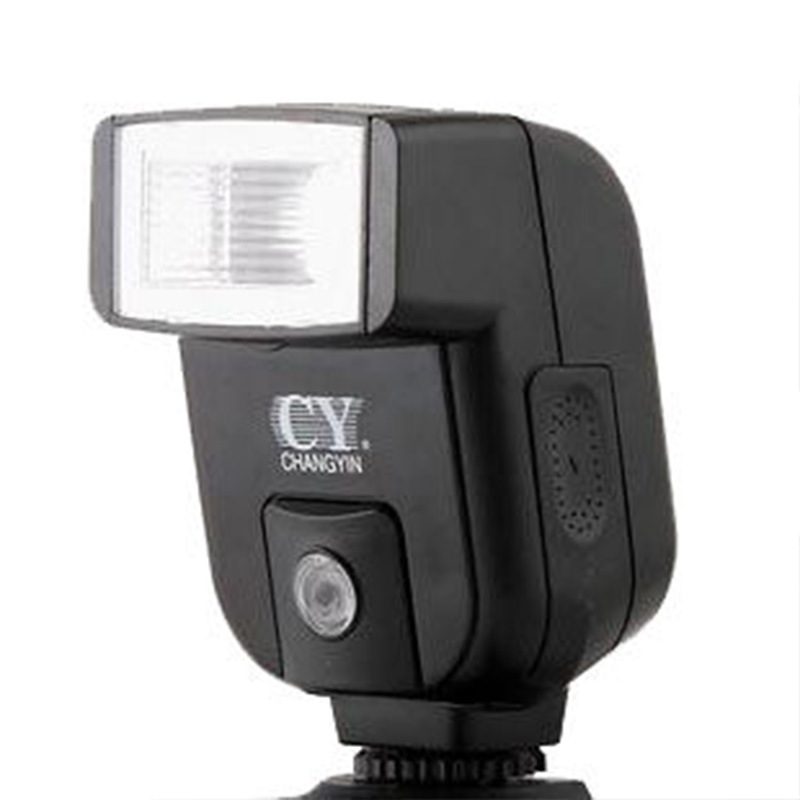 YinYan BY-20 GN20 Universal Hot Shoe beginner level Student Flash Speedlite for canon nikon Olympus Pentax Fujifilm Dslr Camera image