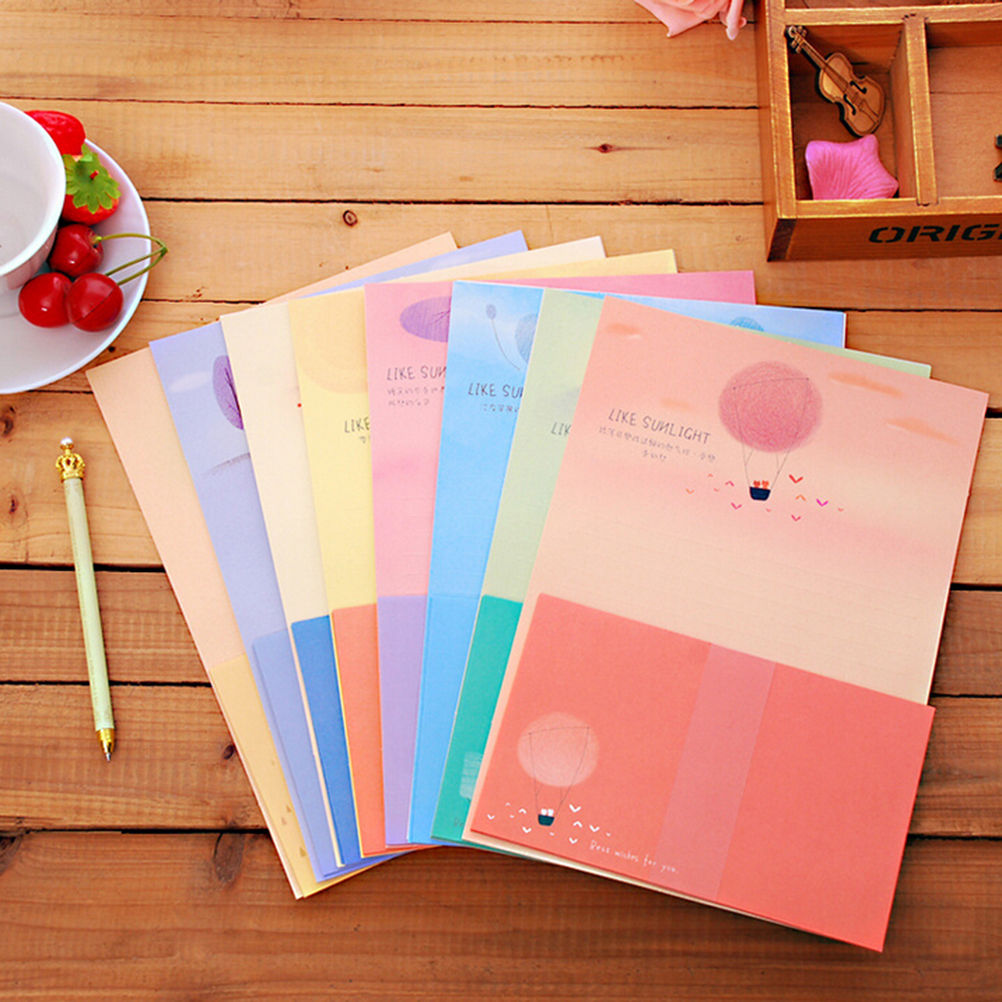 online shop 6sheets writing paper 3sheets envelope stationery love
