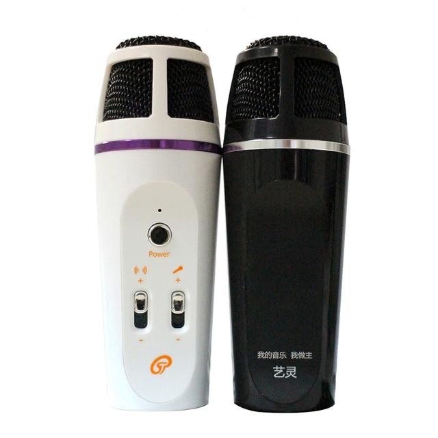 Aliexpress Горячие Продажи USB Конденсатор Звукозаписи Микрофон Для Радио-Чате Караоке YY Записи