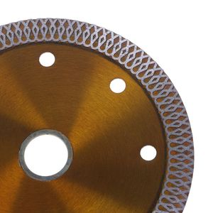 Image 4 - Diamond Saws Blade Hot Pressed Sintered Mesh Turbo Cutting Disc For Granite Marble Tile Ceramic