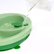 лучшая цена Water injection insulation cup bowl baby division plate infant separation eating training small tableware food fedding plate