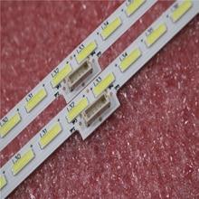 Nieuwe Kit 2 STUKS 64LED 596mm LED strip voor Sony Scherpe XBR 55X850C KD 55X8500C 75. p3C08G001 15A09N SYV5541 YLS_HAN55_7020_REV2 HRN55