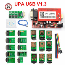NEW UPA USB Programmer V1.3 with Full Adaptors Support Multi-Type Eeproms&Microchip UPA-USB Serial Programmer ECU Tool