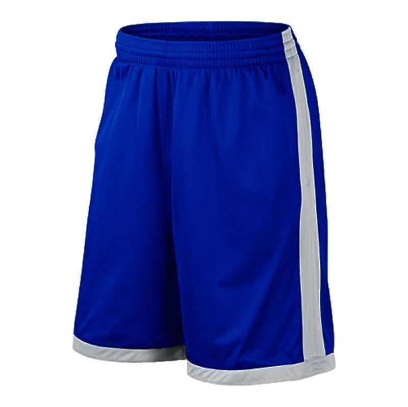 Баскетбольные шорты размера плюс, мужские спортивные шорты, мужские быстросохнущие баскетбольные шорты с карманами, баскетбольная майка высокого качества - Цвет: Blue gray