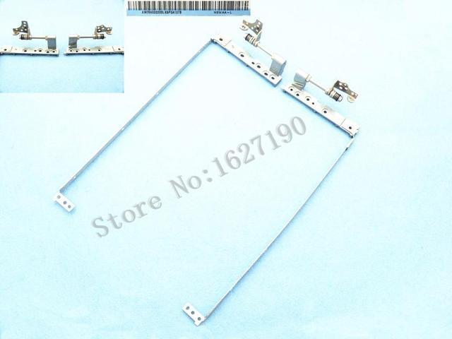 """Original novo laptop dobradiça lcd substituição para toshiba satellite a355 a355d l450 l455 l455d 15.6 """"r: am05s000600 l: am05s000300"""