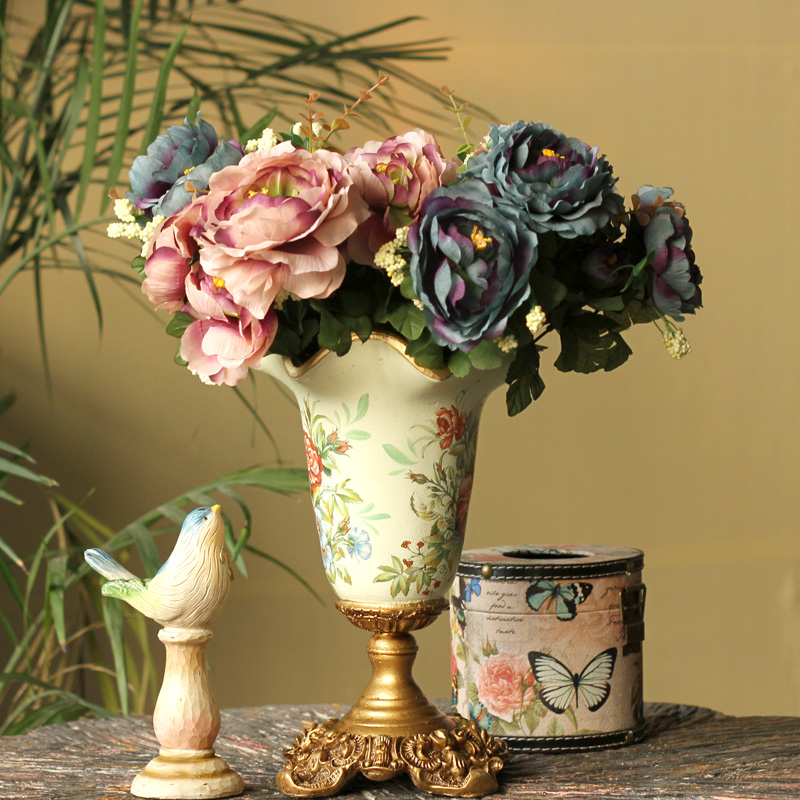3pcs Artificial Fake Flower Fashion Vintage Color Camellia Bouquet Decorative  Silk Flowers For Home Decor Fleurs Free Shipping In Artificial U0026 Dried  Flowers ...