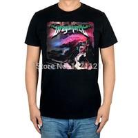 Darmowa wysyłka DRAGONFORCE Ultra Beatdown rock band power metal new black 100% bawełna t-shirt