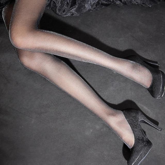 Envío libre fino transparente luminoso perlas de plata cebollas de plata medias de seda Liangsi era medias pantimedias finas incluso pie