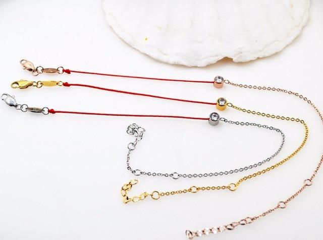 4f8fdc20d1d3d Bracelet en corde redline en or