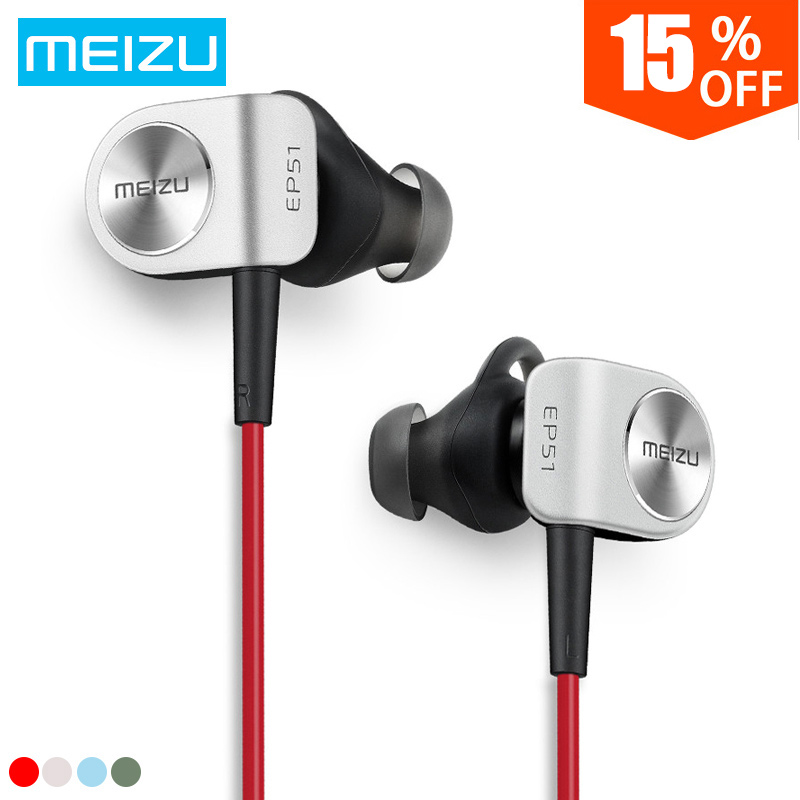 все цены на Original Meizu EP51 Bluetooth Earphone Sport Headset for Wireless Earphone Bluetooth Stereo Headset In-Ear APT-X With MIC онлайн
