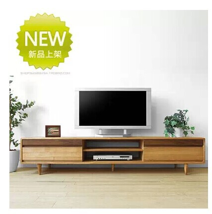 Blanco japon s roble blanco gabinete tv madera maciza for Muebles color roble