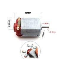 1 PC 130 DC3 6V Micro Motor Spielzeug motor für DIY Spielzeug Hobbies Smart Auto DC-Motor Heimwerkerbedarf -