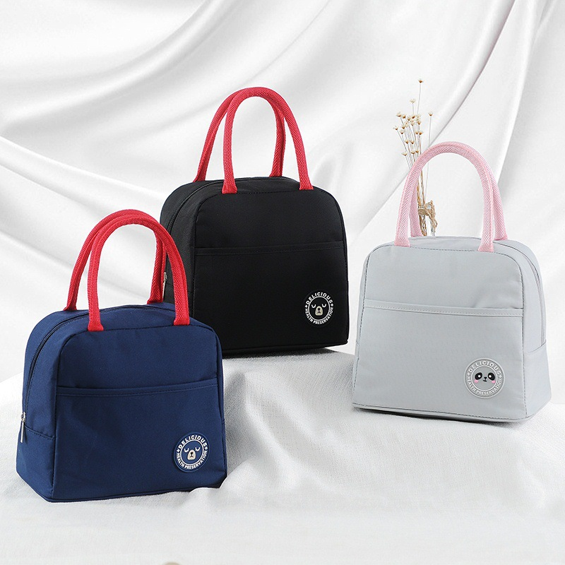 New Sale Portable Lunch font b Bag b font Thermal Insulated Lunch Box Tote font b