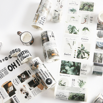 Travelling Washi Tape DIY Scrapbooking Sticker Label Masking Tape School Office Supply Office Adhesive Tape
