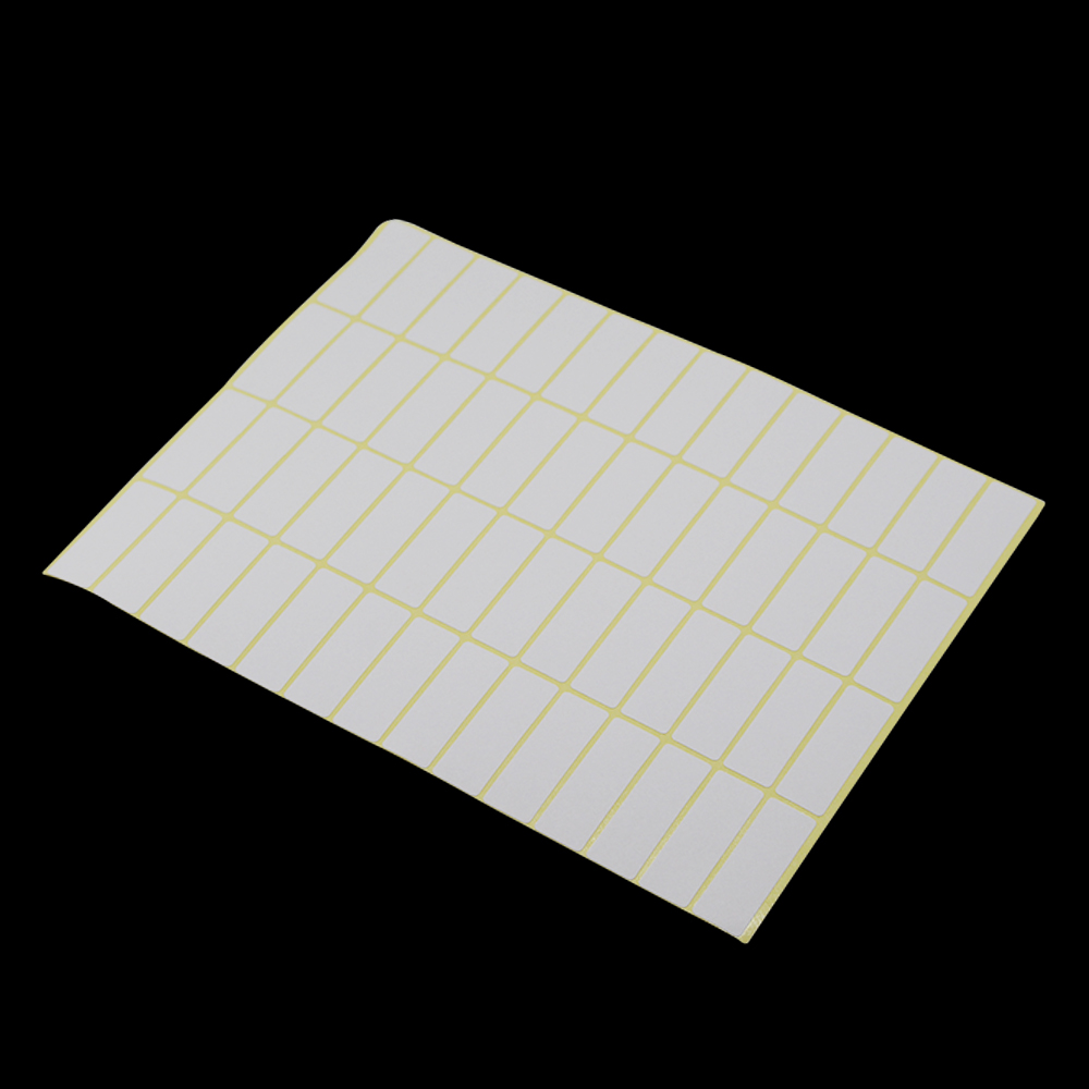 Many Different Sizes Blank White Self Adhesive Label Stickers Rectangle Shaped Removable Sealing Labels for Gift Decorations address adhesive stickers labels 100 100mm 500 sheets thermal papers for labeling and sealing marks wholesale with a good price