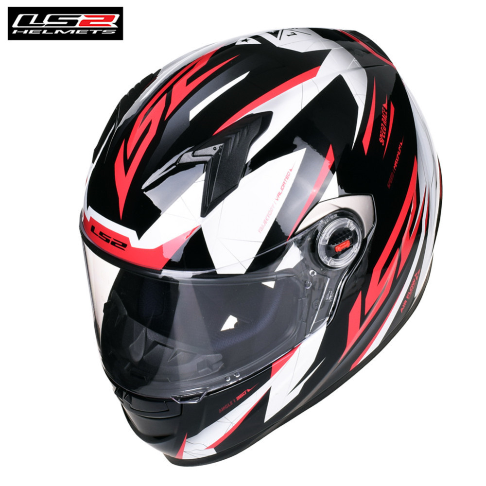LS2 Full Face Motorcycle Helmet Racing Capacete Casque Casco Moto Helm Kask FF358 Alex Barros Helmets Crash Motor Motorsiklet ls2 alex barros full face motorcycle helmet racing moto helmets isigqoko capacete casque moto ece approved no pump ff358 helmets