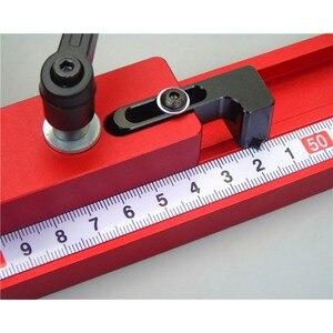 Image 5 - 400/600/800MM Universal Aluminium 45mm track Rutsche Drücker Elektrische Kreissäge Flip Tisch Holzbearbeitung DIY zubehör