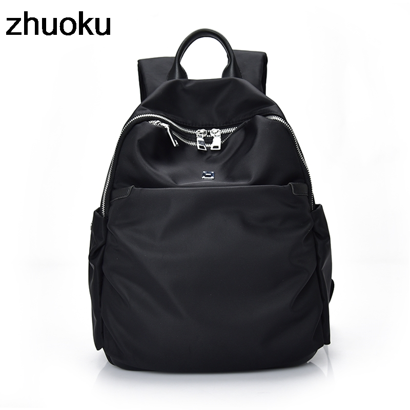 Women Backpacks Waterproof Nylon Student School Bags Girl Backpacks Female Casual Travel Shoulder Bag Ladies mochila feminina цена
