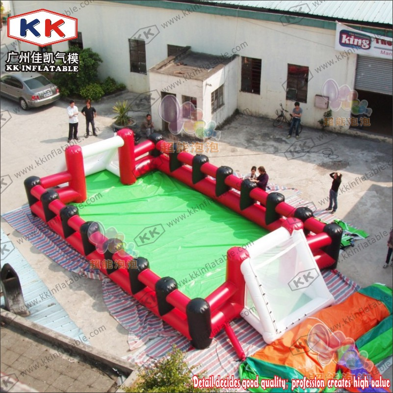 Inflatable football field inflatable football pitch soccer football field for footballs